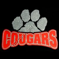 Cougars Glitter Paw Thumbnail
